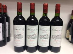 2001 Chateau La Tour de By, Cru Bourgeois Medoc, France - 4 bottles 0,75l