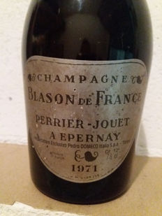 1971 Blason de France Perrier Jouet Champagne - 1 bottle (78cl)