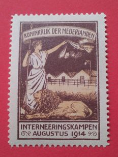 Nederland 1916 - Interneringszegel - NVPH IN2