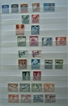German Empire 1933/1937 - Small collection with series and stamps