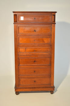 Louis Philippe secretaire - walnut - France - ca. 1870