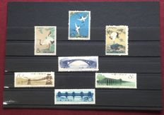 China 1962/1966 - Collection of 4 complete series - 特48(S48), 特50(S50), 特58(S58), 特75(S75), Scott 612/614, 606/609, 737/745 and 907/916