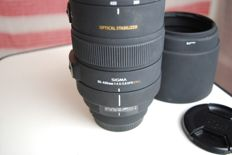 Sigma lens 80-400mm F4.5-5.6 OS APO DG for Canon