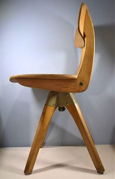 Casala - wooden child's chair, rotating model