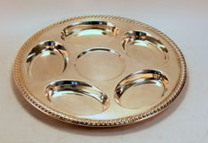 Vintage Silver Plate Tray, C.1950