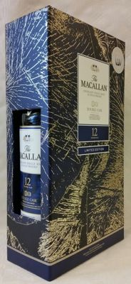 Macallan 12 years old - Double Cask in gift box with 2 original glasses - Limited Edition