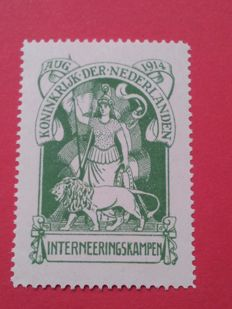 Netherlands 1916 - Internment Camp Stamp - NVPH IN1