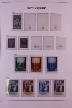 Vatican 1942/1992 - Collection in Davo crystal preprint album
