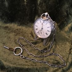 Fusee men's pocket watch - Thomas Bennett - 1894