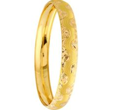 10 g 22 Ct Fine Gold Ladie's Bullion Bangle , *** LOW RESERVE ****