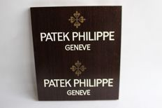 PATEK PHILIPPE watches Geneva advertising signs rare
