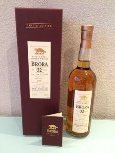 Brora 32 Year Old. 2011 Special Releases
