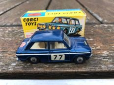 Corgi Toys - Scale 1/43 - Lot with 1967 Monte Carlo Sunbeam Imp No.340 and Hillman IMP No.251