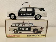 Dinky Toys-France - Scale 1/43 - Peugeot 404 Break 'Police' No.1429