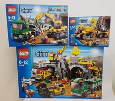 City -  4201 + 4203 + 4204 -  Loader and Tipper + Loader and Tipper + The Mine