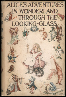 Lewis Carroll - Alice's Adventures in Wonderland and Through the Looking-Glass - 1939