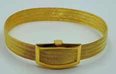 22 Ct  Fine Gold Bullion Mesh Bracelet, Total 22.00 g, length 18 Cm, ***N0 RESERVE PRICE  ***