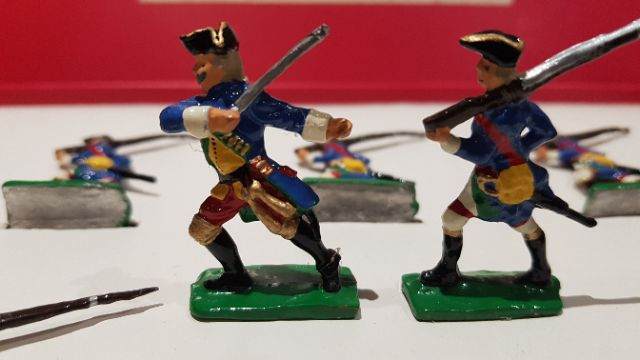 Pewter Toy Soldiers