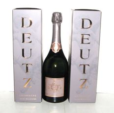 2012 Champagne Deutz Rosé - lot 3 bouteilles (75cl) in gift box