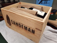 1985 Vintage Port Sandeman - 12 bottles in OWC
