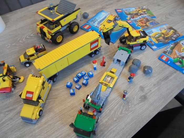 lego city truck 3221 instructions