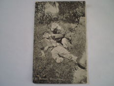 Lot of 55 Military postcards many WW1 with better cards too