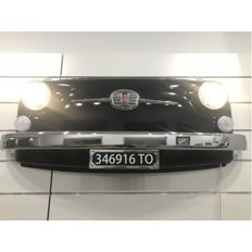 Fiat 500 F Frontal Part - With Working Lights and remote-controlled - 118 x 47 x 22 cm