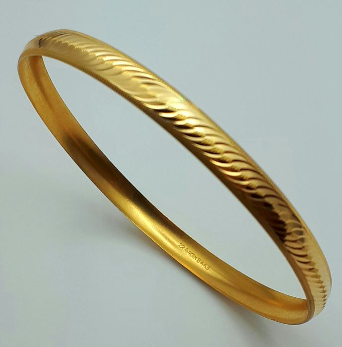 4g,  1 Bangle, 22 Ct Gold *** LOW RESERVE ****