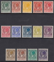 The Netherlands 1924 - Queen Wilhelmina type 'Veth' - NVPH 149/162