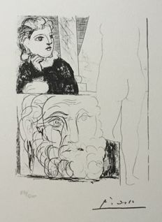 Pablo Picasso (after) - Suite Vollard, Planche LXXI