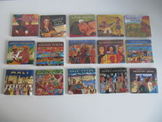 Lot of 15 Putumayo World Music CD Albums - Mint & Sealed