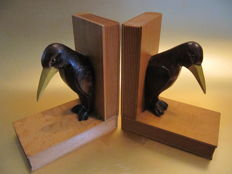 Art Deco / Amsterdam School bookends