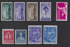 Italy 1949/1950 - Various depictions - Michel 774/776, 780, 784/785, 793/794 and 855