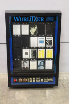 WURLITZER wall remote CD jukebox