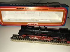 Märklin/Hamo H0 - 8382 - Steam locomotive with towed tender Series BR 41 of the DB
