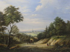 Unknown (19th century) - Romantic landscape