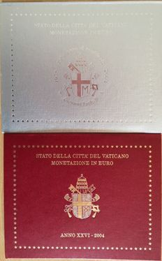 Vatican City - Divisional series - John Paul II, 2003 and 2004