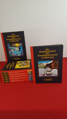 Robbedoes en Kwabbernoot Collectie - 1 t/m 7 - complete serie - 7x hc - 1e druk v/e heruitgave - (1993)