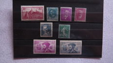 France 1926/1933 - Selection of stamps