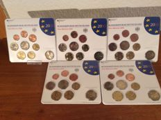 Germany - coin set 2010 A D F G J incl. 5 x 2 euro Bremen