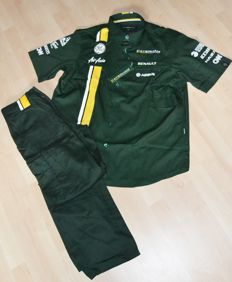 Caterham F1 Team / Driver Uniform > Shirt & Pants > Team Only !
