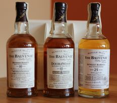 3 bottles - Balvenie Malt Master's Selection