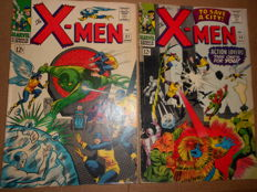 Marvel Comics - X-Men #21 & 23 - x2 SC - (1966)
