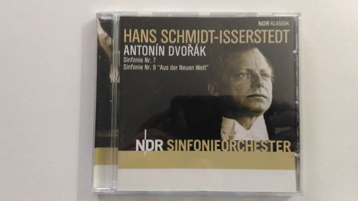Hans Schmidt-Issersredt/Sinfonie 7 & 9(Antonin Dvorak) + Dimitri Schostakowitsch + Romantic rarities Vol. 1 & 2 (US-Import Very rare) + Mstislav Rostropovich (2CD as new) + Bartók: Sonata for Violin and Piano (CD Sealed)