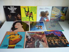 Lot with 10 Reggea / Soul / Funk / Motown albums. Numerous great names: B.T. Express,Curtis Mayfield, Gladys Night & the Pips, Percy Sledge,Marvin Gaye, Arthur Conley, Aretha Franklin, Otis Redding and many many  other great soul performers