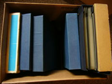 The Netherlands - Batch stamp booklets, folders, FDCs etc. in 6 albums