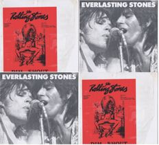 Rolling Stones - lot of 2LP's: 1. Everlasting Stones (Sons of 1984 JPM 182124) Germany 1984 |  2: Rim Shout (Not On Label RS 6141) USA LP