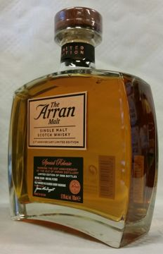 The Arran Malt - 21st Anniversary - Limited Edition of 5988 bottles worldwide