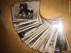 Lot of bullfighting postcards, 1920s