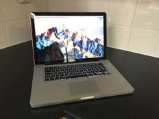 "Apple MacBook Pro 15"" - Mid 2010 - Intel Core i5/2,4GHz/8GB/256GB SSD/NVIDIA"
